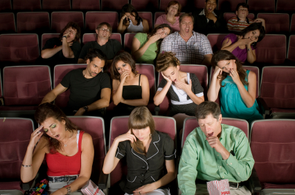 Bored audience? (photo credit: unclear. Source: https://speakingoutevents.com/2010/03/25/beingboring/)