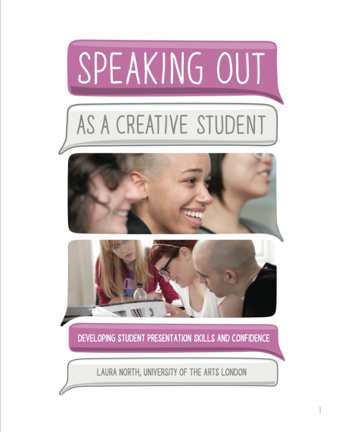 Speaking Out as a Creative Student